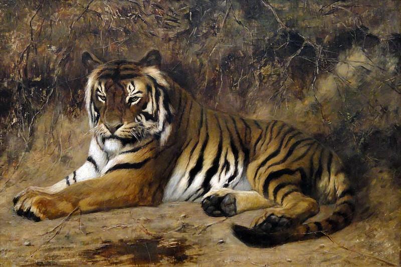 Тигр. Жан-Леон Жером