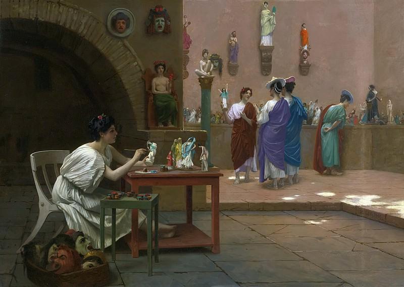 Workshop At Tanagra. Jean-Léon Gérôme