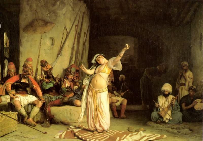 The Dance of the Almeh. Jean-Léon Gérôme