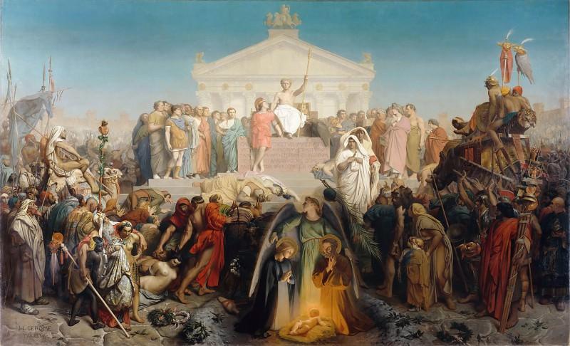 Age of Augustus: Birth of Jesus Christ. Jean-Léon Gérôme