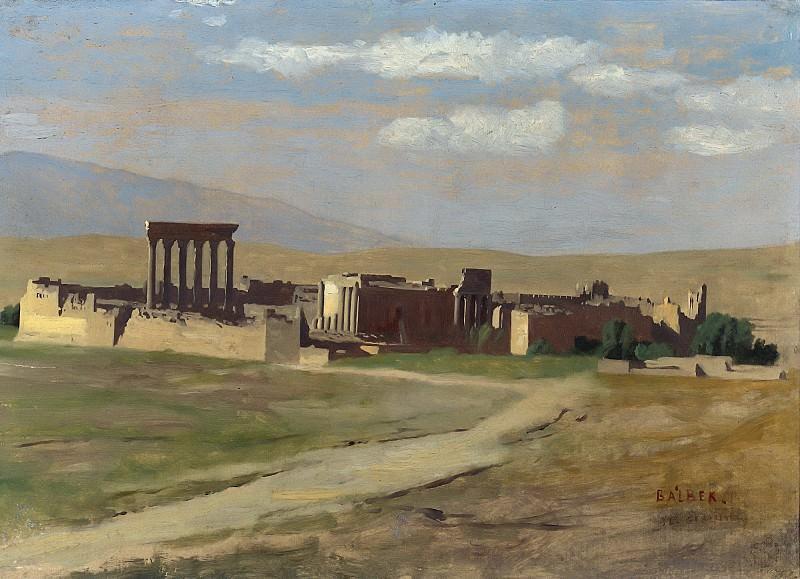 VIEW OF BAALBEK. Jean-Léon Gérôme