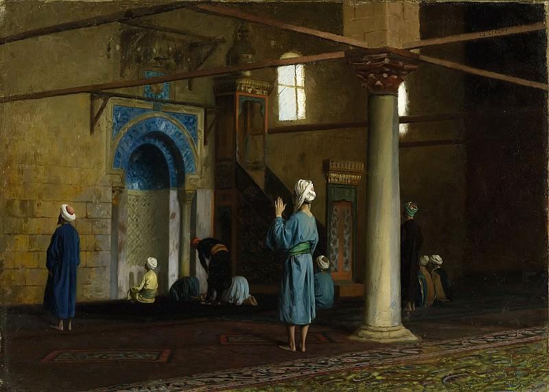 Молитва, Каир. Жан-Леон Жером