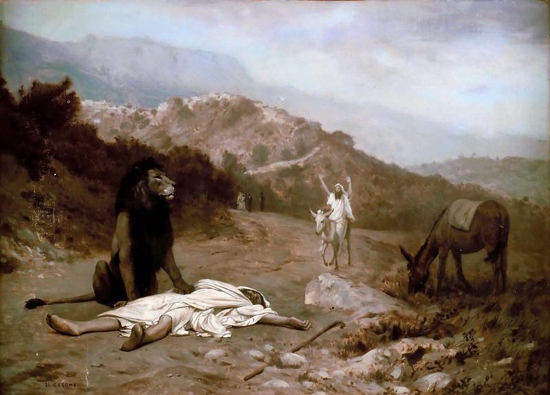 Disobedient Prophet. Jean-Léon Gérôme