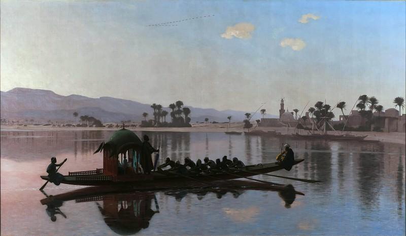 Excursion of the Harem. Jean-Léon Gérôme
