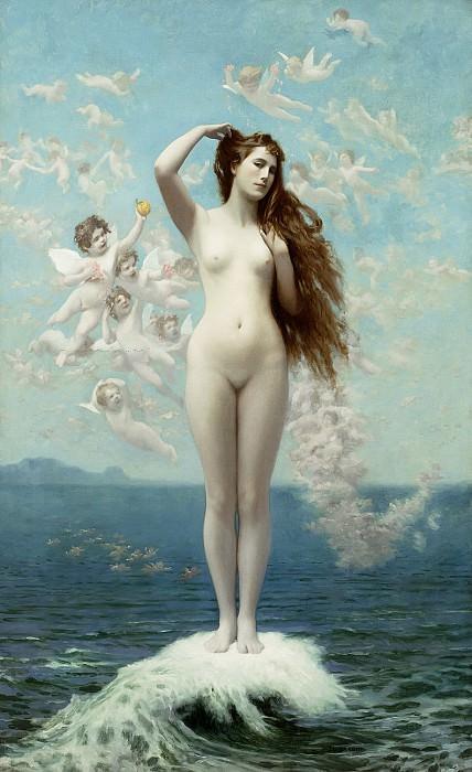 Venus Rising. Jean-Léon Gérôme