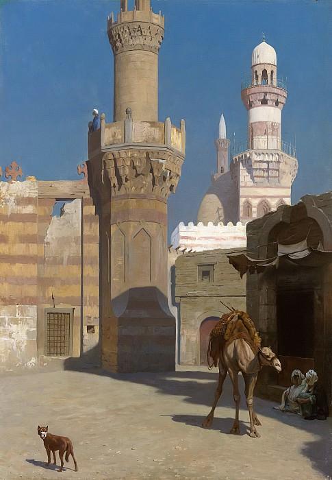 Жаркий день в Каире (Мечеть). Жан-Леон Жером