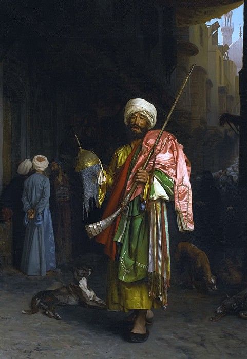 Cairo trader. Jean-Léon Gérôme