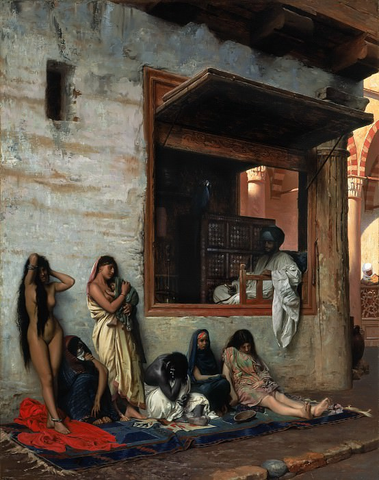 The Slave Market. Jean-Léon Gérôme