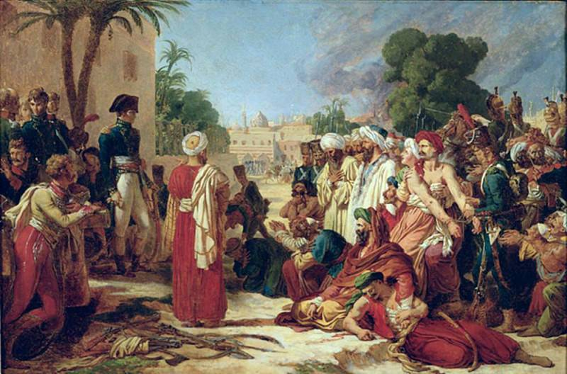 Bonaparte (1769-1821) in Cairo. Pierre-Narcisse Guerin