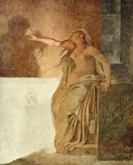 Sorrow. Pierre-Narcisse Guerin