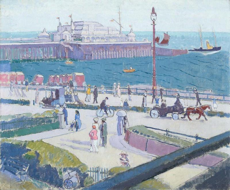 Brighton Pier. Spencer Frederick Gore