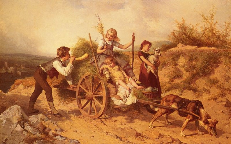 The Country Children. Theodore Gerard