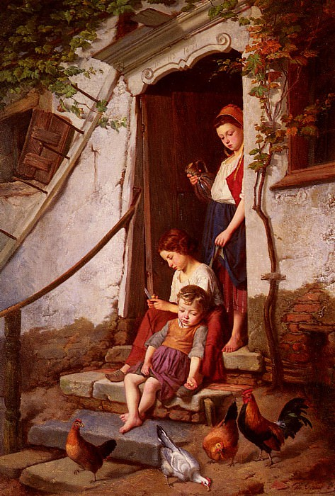 The Farmers Children. Theodore Gerard