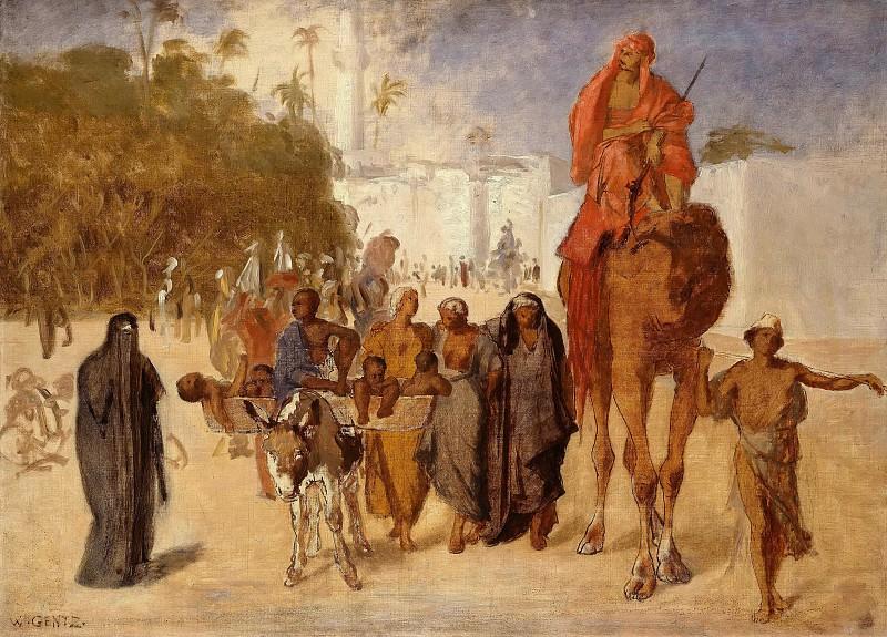Покидание Каира. Карл Вильгельм Генц