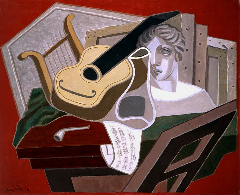 Хуан Грис - Стол музыканта. Juan Gris (The Musicians Table)
