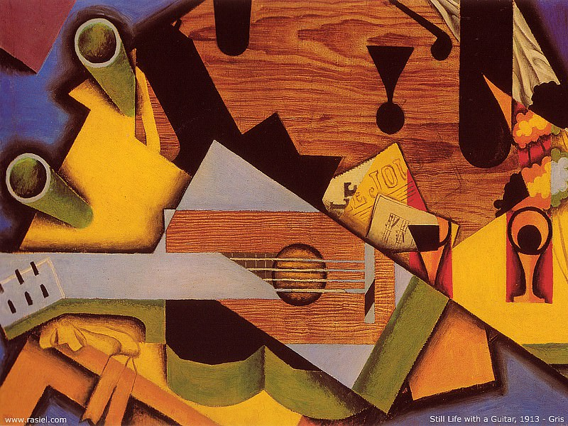 Натюрморт с гитарой. Хуан Грис