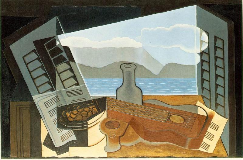 Открытое окно, 1921. Хуан Грис