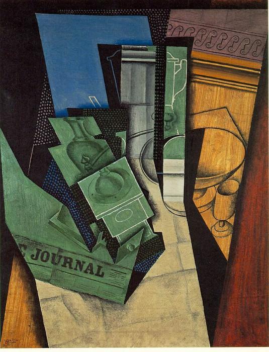 The Breakfast, 1915, 92x73 cm, Musee National dArt Mod. Juan Gris