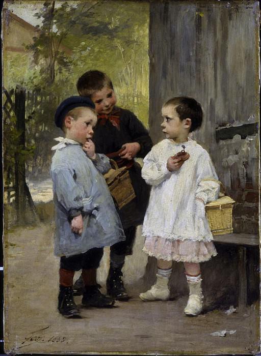 Give Me A Bite. Henry Jules Jean Geoffroy