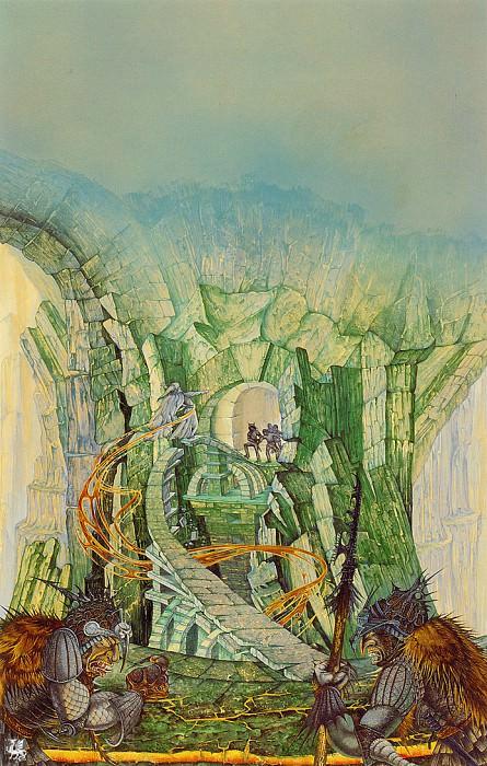 The Bridge of Khazad Dum (ma Tolkien30 ). Roger Garland