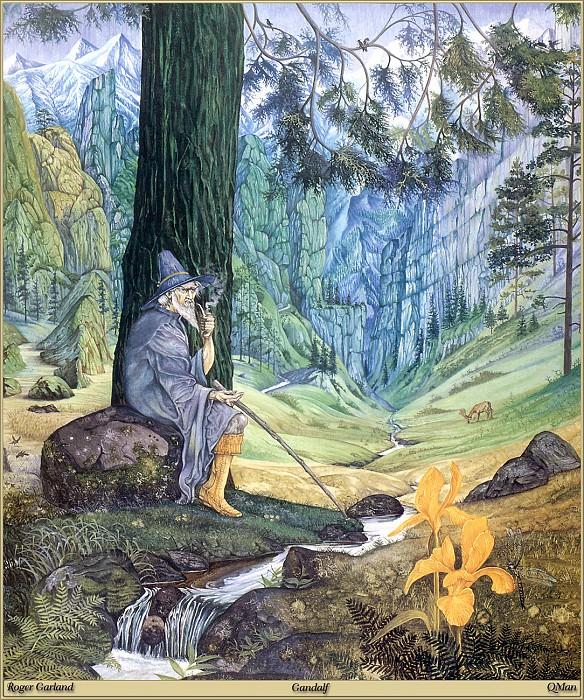 Gandalf. Roger Garland