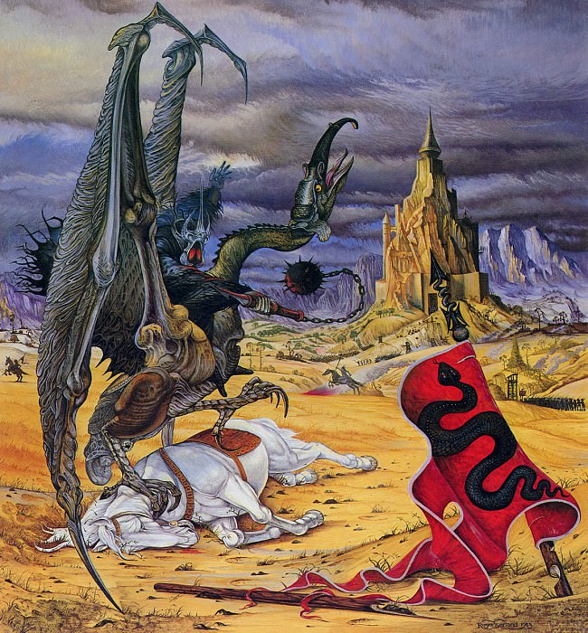 84tcal 10 Lord of the Nazgul. Roger Garland