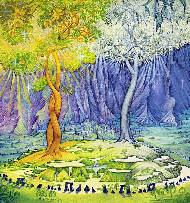 Two Trees of Valinor. Roger Garland