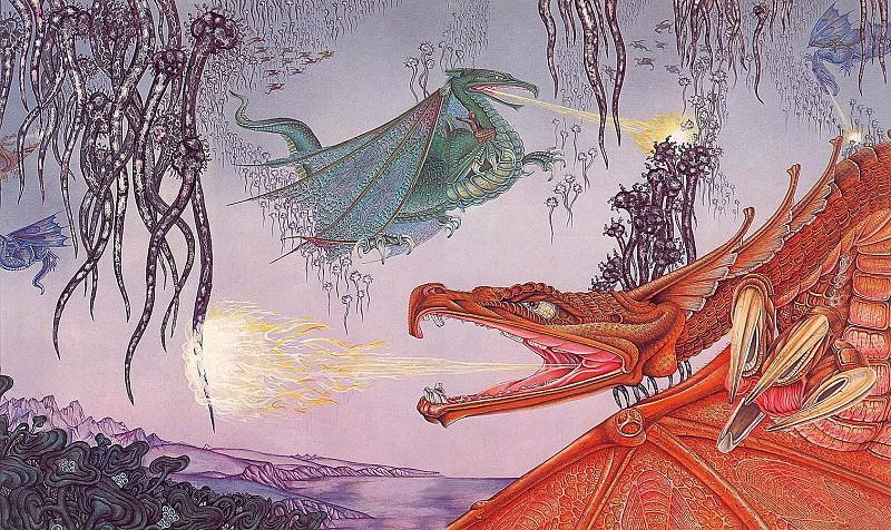 Pern Dragon. Roger Garland