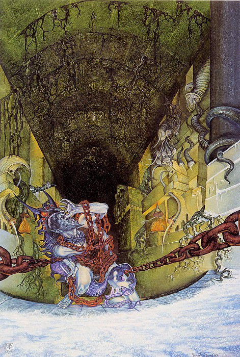 The chaining of Melkor (ma Tolkien51 ). Roger Garland