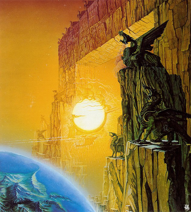 The gates of Morn (ma Tolkien55 ). Roger Garland