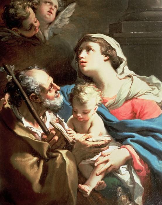 The Holy Family. Gaetano Gandolfi