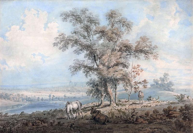 Вид на Лондон с Хайгейт-Хилл. Томас Гёртин