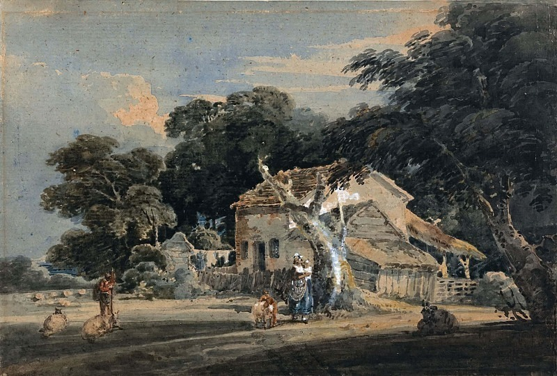 Девонширская ферма. Томас Гёртин