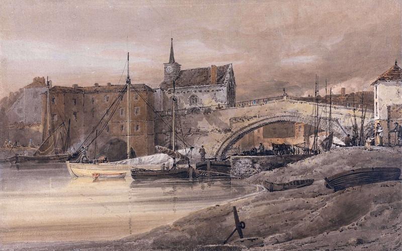 Мост Уз, Йорк. Томас Гёртин