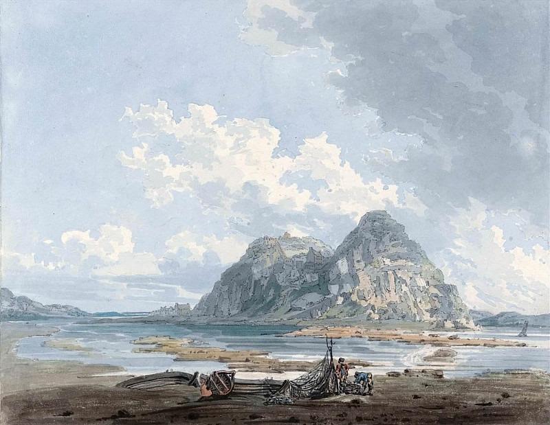 Дамбартон, скала и Замок. Томас Гёртин