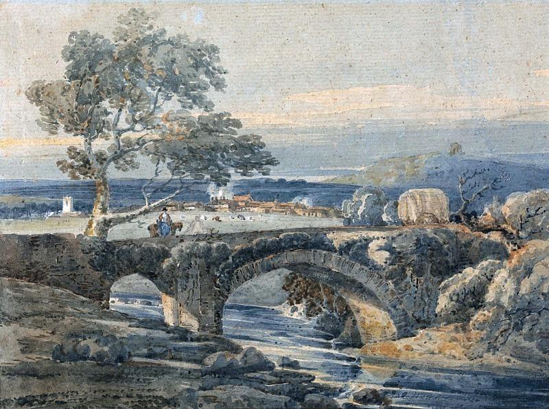 Старый мост в Девоне. Томас Гёртин