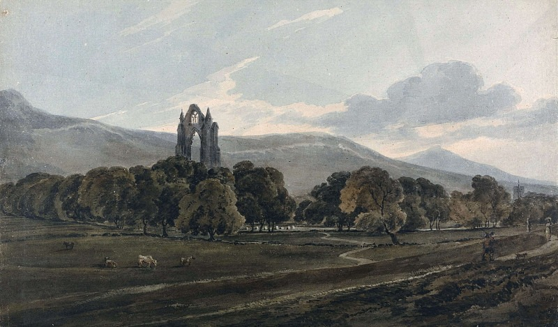 Монастырь Гисборо. Томас Гёртин