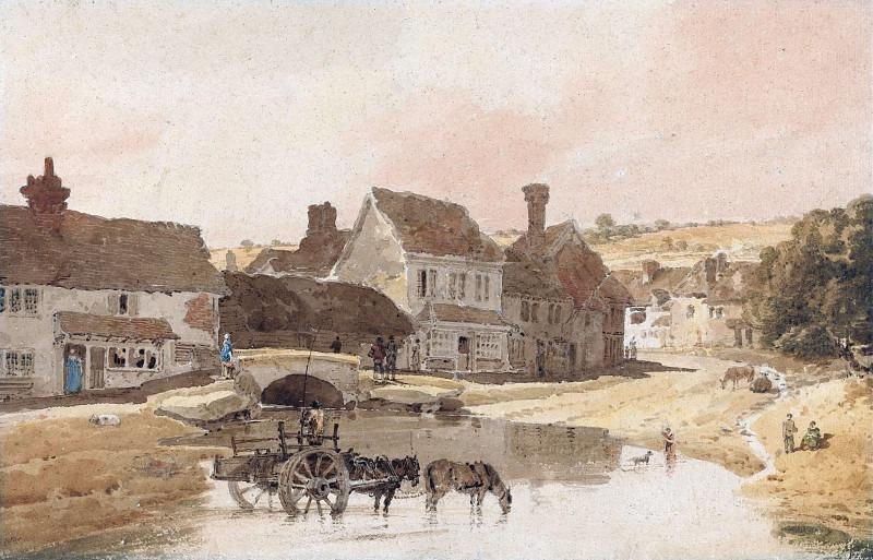 Деревня Киркстолл, Йоркшир. Томас Гёртин