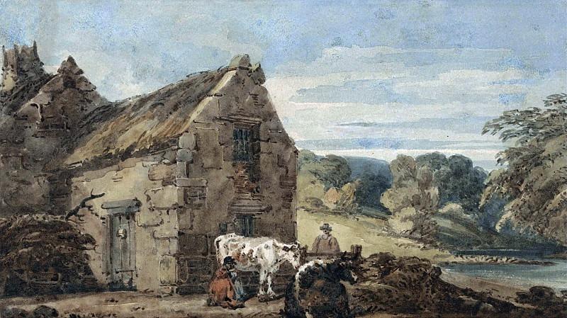 Деревенский дом недалеко от Ньюкасла, Нортумберленд. Томас Гёртин