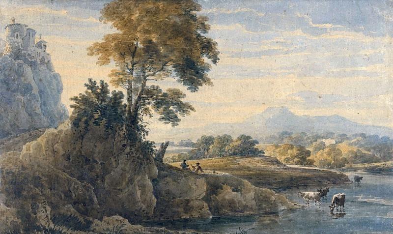 Романтический пейзаж. Томас Гёртин