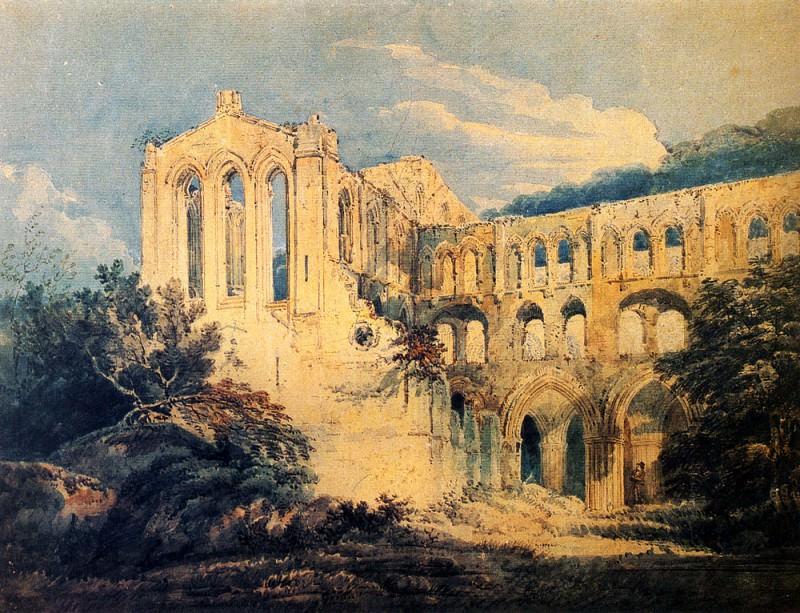 Монастырь Риво в Йоркшире. Томас Гёртин