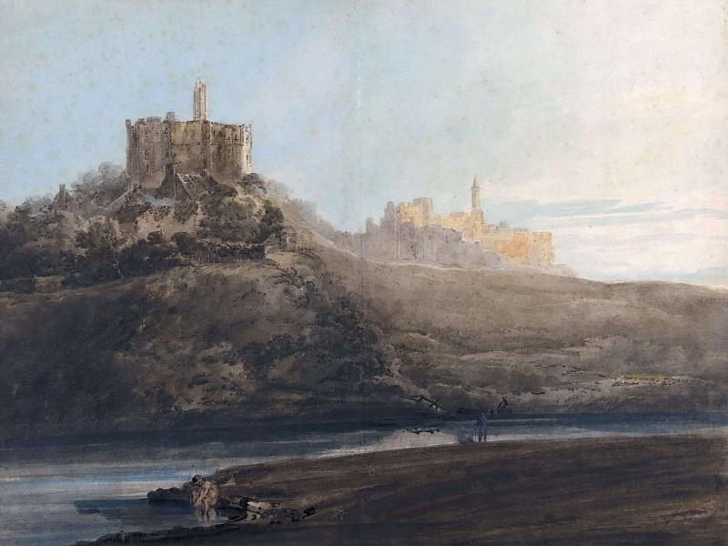 Замок Уоркуорт, Нортумберленд. Томас Гёртин