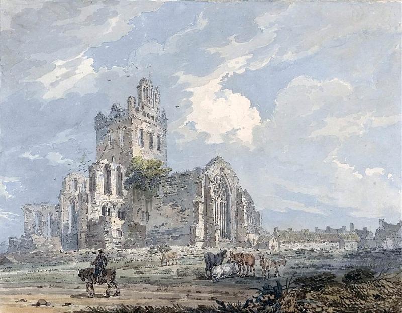 Джедбургское аббатство, Роксбургшир. Томас Гёртин