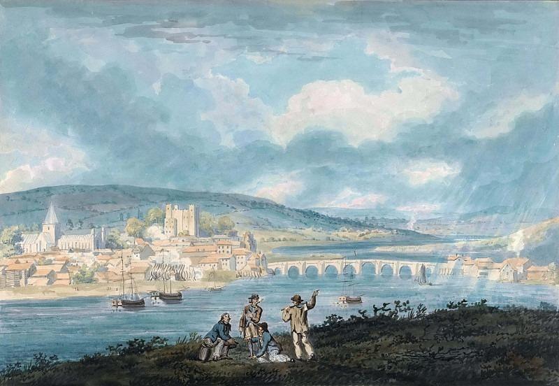 Рочестер, Кент - с севера. Томас Гёртин