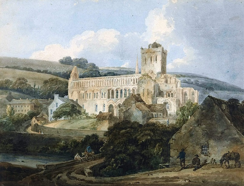 Джедбургское аббатство с юго-востока. Томас Гёртин