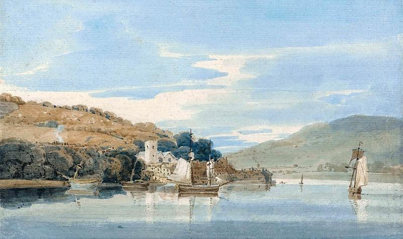Вид из Дартмута на Кингсвер, Девон. Томас Гёртин