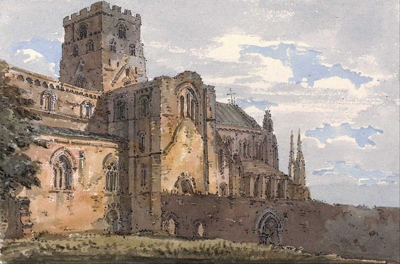 Карлайлский собор, Камберленд, с юго-запада. Томас Гёртин
