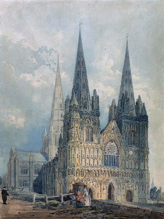 Личфилдский собор, Стаффордшир. Томас Гёртин