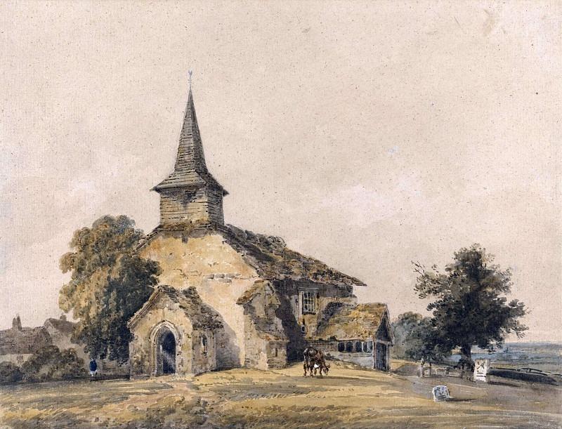 Церковная часовня, Суррей. Томас Гёртин