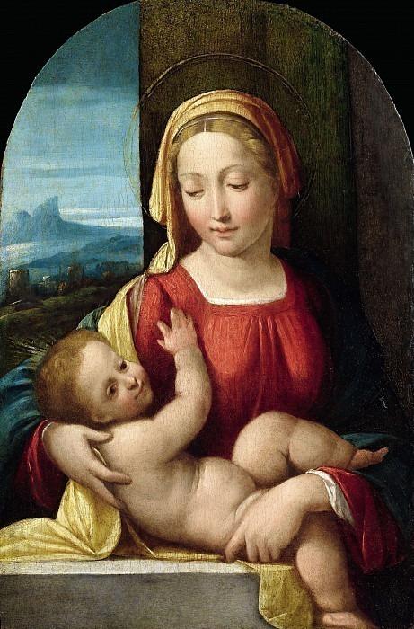 Мадонна с младенцем. Гарофало (Бенвенуто Тизи)